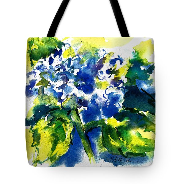 First Hydrangea Tote Bag