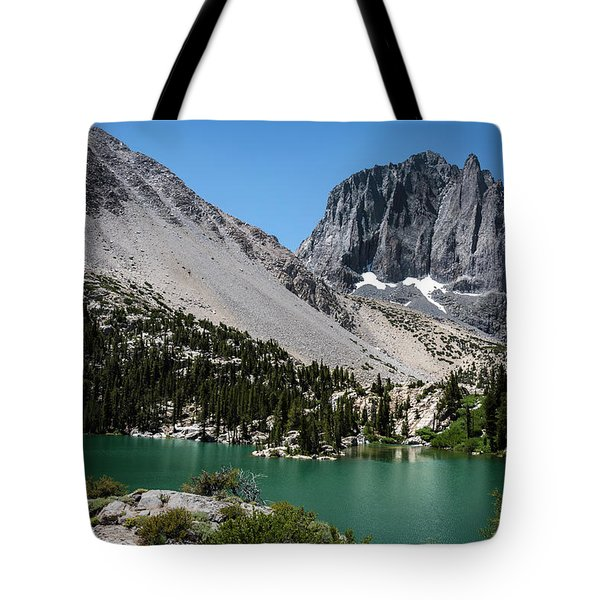 First Lake Afternoon Tote Bag