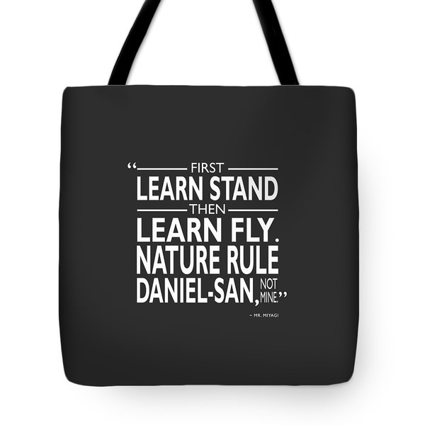 First Learn Stand Tote Bag