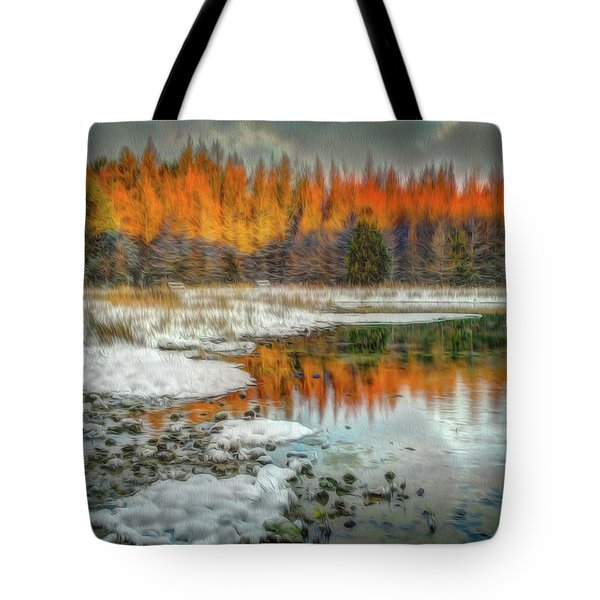 First Light At 3 Springs Tote Bag