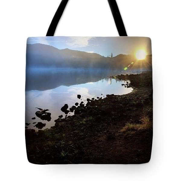 Tote Bag featuring the photograph Daybreak by Cat Connor