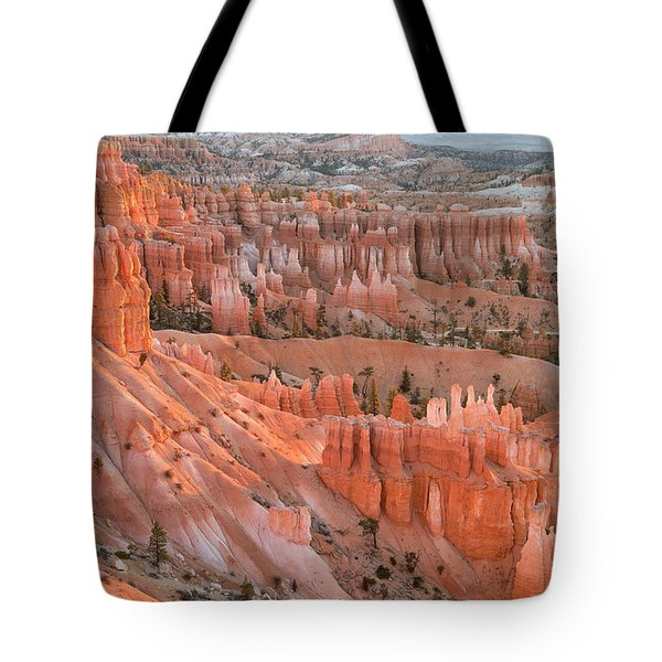 First Light, Bryce Canyon National Park Tote Bag