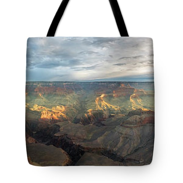 First Light In The Canyon Tote Bag