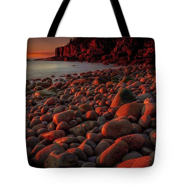 First Light On A Maine Coast Tote Bag
