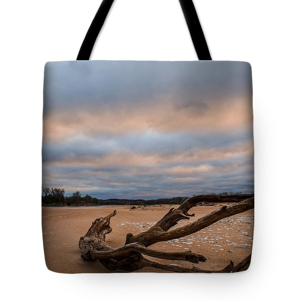 First Light On The Kaw Tote Bag