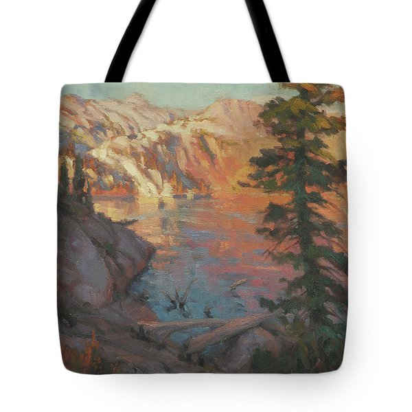 First Light Wilderness Tote Bag