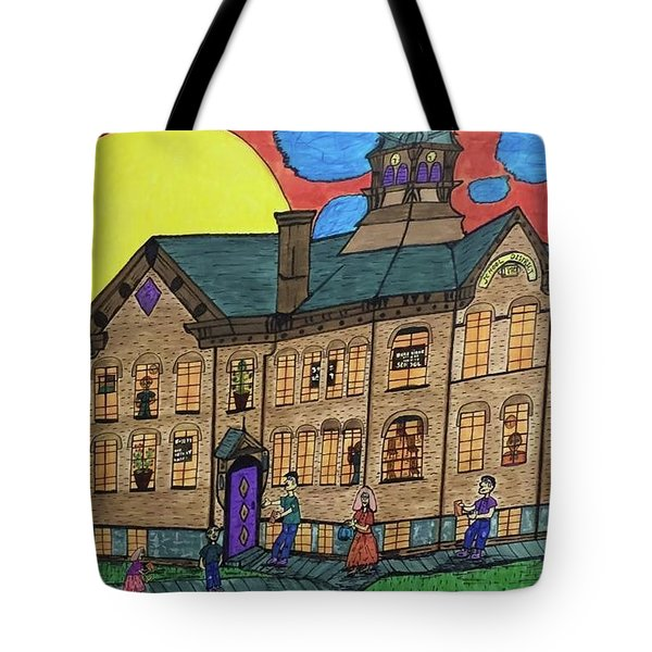First Menominee High School. Tote Bag