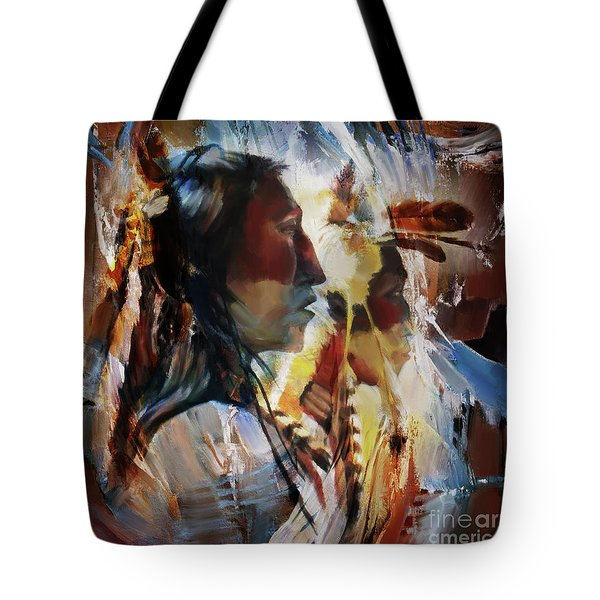 First Nation 67yu Tote Bag by Gull G