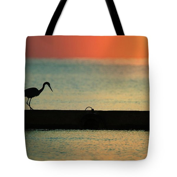 First On The Jetty Tote Bag