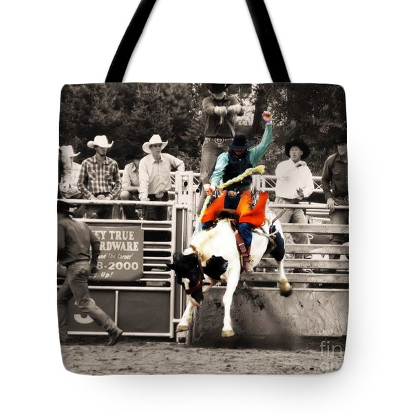 First Out Of The Chute Tote Bag