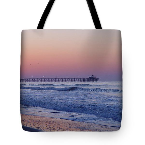 First Pier Tote Bag