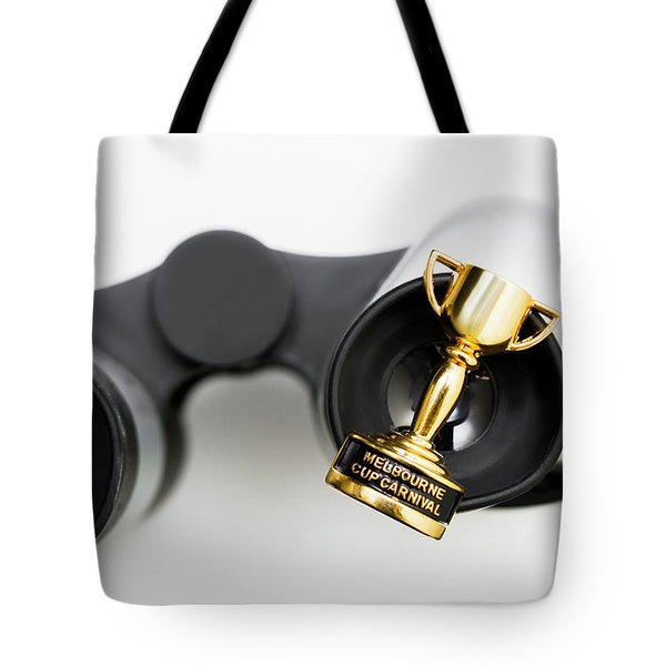First Place Setting For Melbourne Cup Luncheon Tote Bag