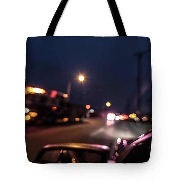 Tote Bag featuring the photograph First Responders by Randy Scherkenbach