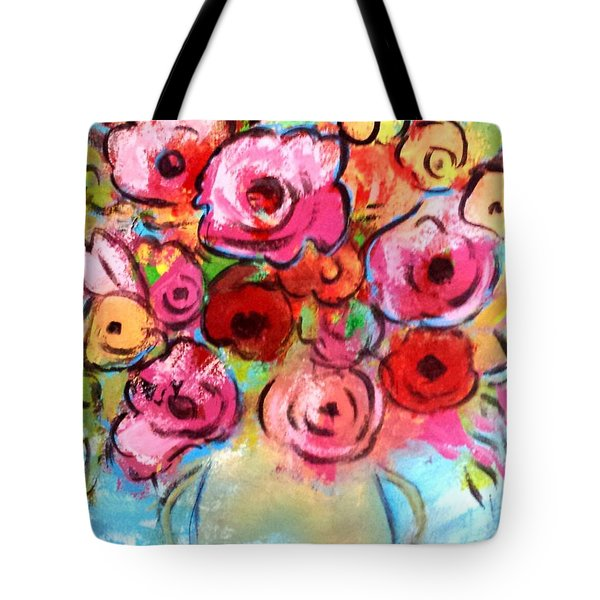 First Roses Of Summer Tote Bag