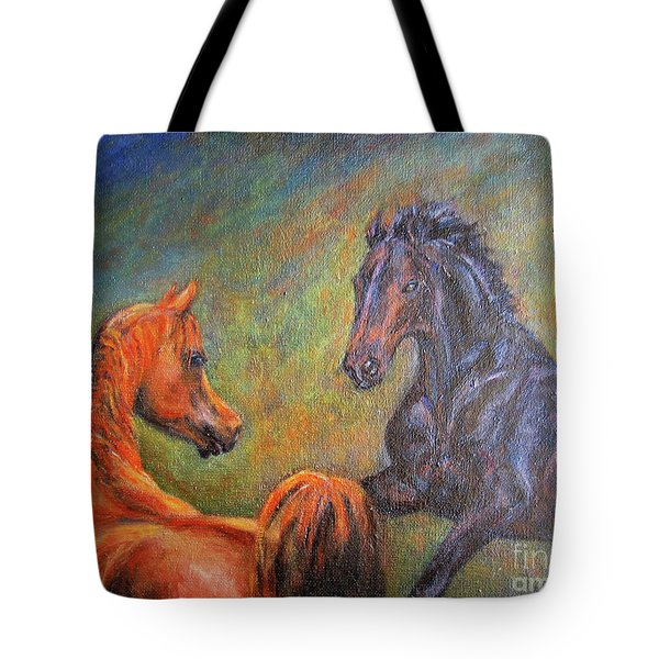 First Sight Tote Bag by Xueling Zou