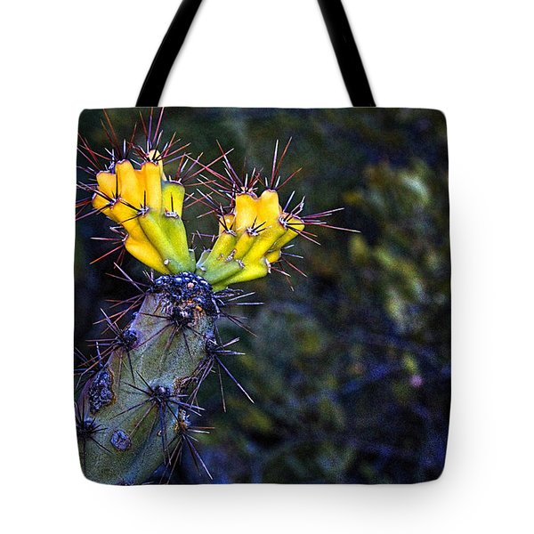 First Signs Of Spring On The Sonoran Desert Tote Bag
