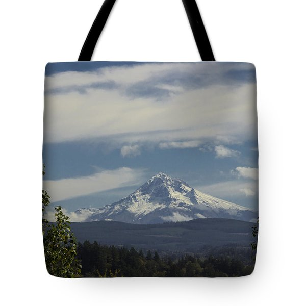 First Snow Signed Tote Bag
