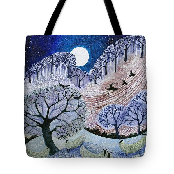 First Snow Surrey Hills Tote Bag