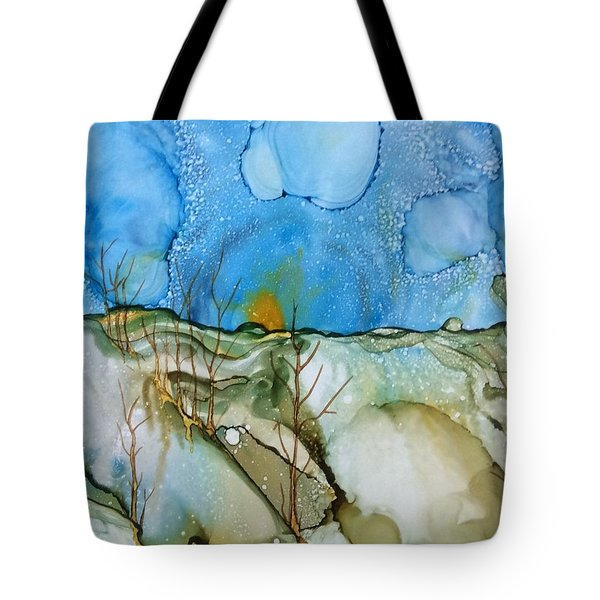 First Snowfall Tote Bag
