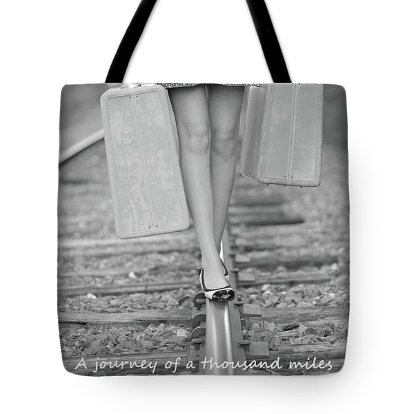 First Step Tote Bag by Barbara West