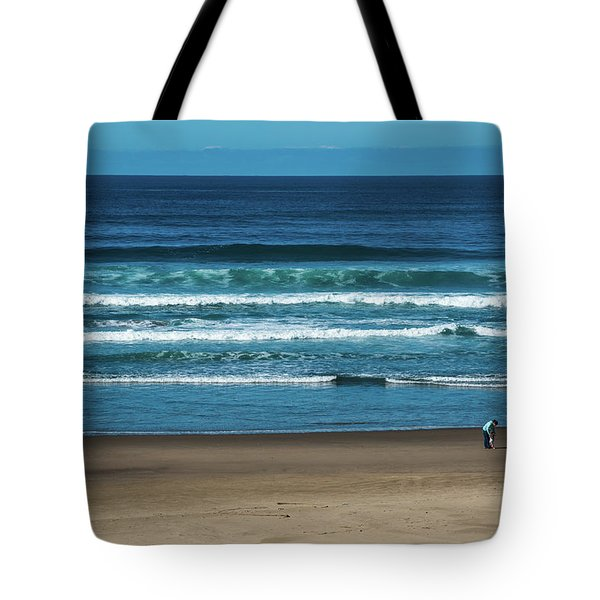 First Steps On The Sand Tote Bag