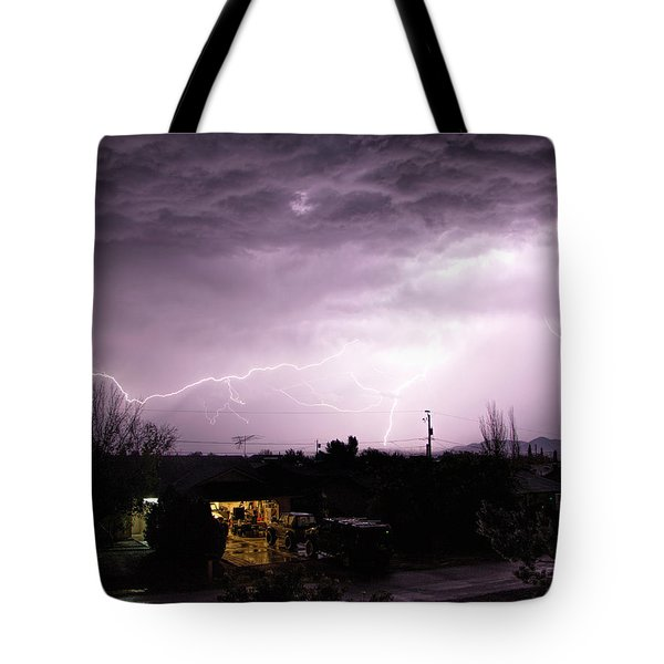 First Summer Storm Tote Bag by Charles Ables
