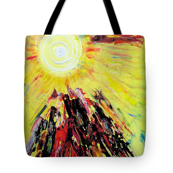 First Sun Tote Bag