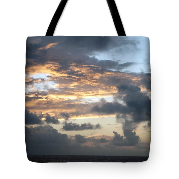 Tote Bag featuring the photograph First Sunrise  by Allen Carroll