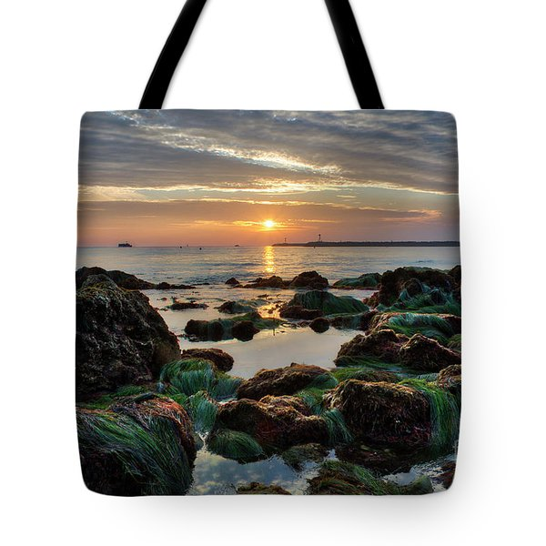 First Sunset Of 2018 Tote Bag