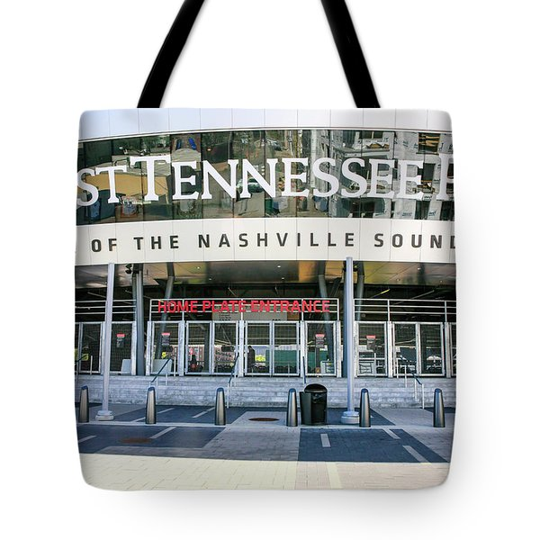 First Tennessee Park, Nashville Tote Bag