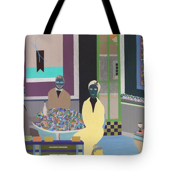 First To Arrive Tote Bag by Bill OConnor