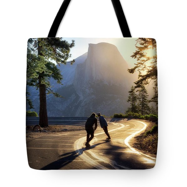 First Tracks Tote Bag by Nicki Frates