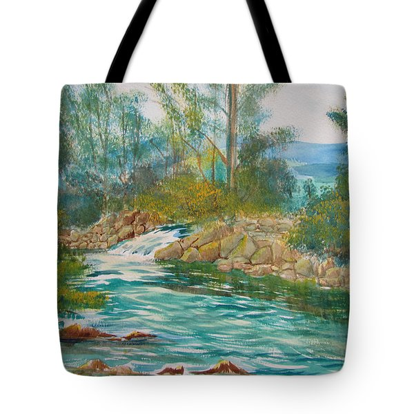 First Watercolour Tote Bag