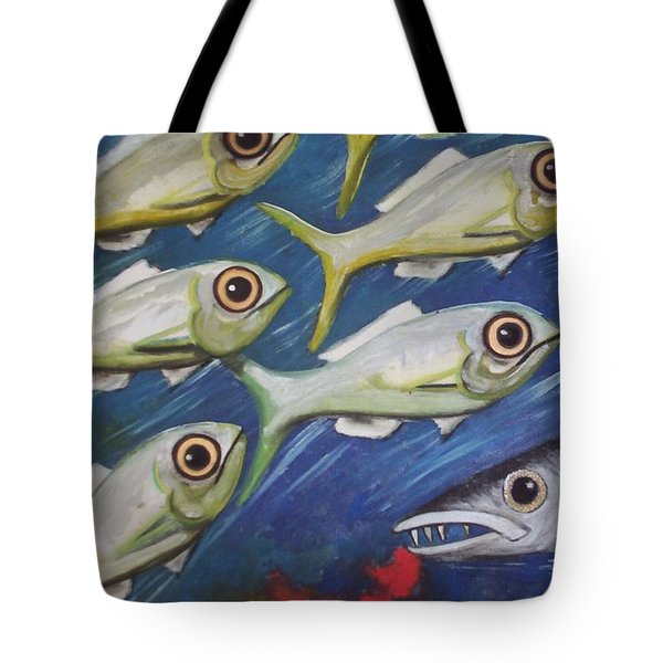 Fish Ball Tote Bag