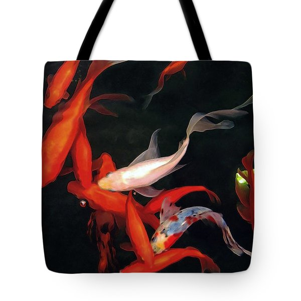 Fish Ballet Tote Bag by Dale   Ford