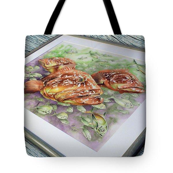 Fish Bowl 2 Tote Bag