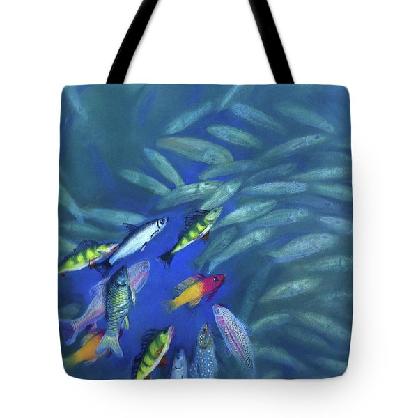 Fish Bowl Tote Bag