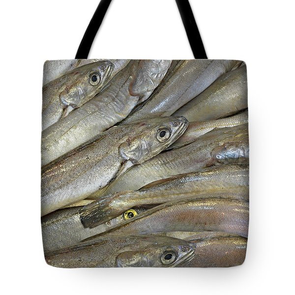 Fish Eyes Tote Bag by Joe Bonita