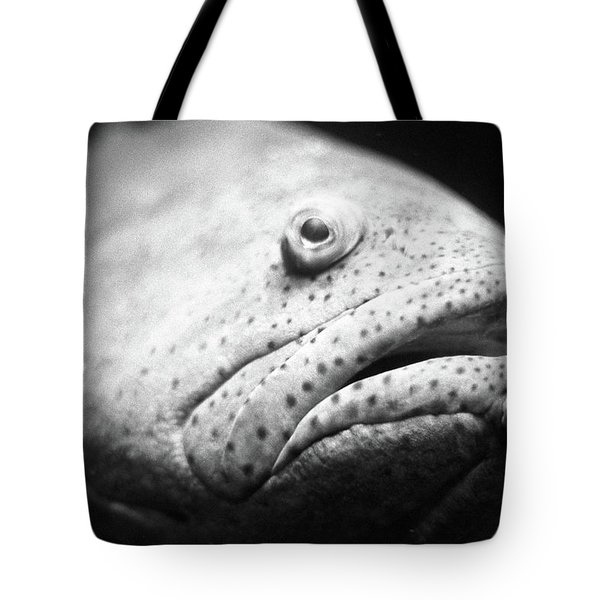 Fish Face Tote Bag
