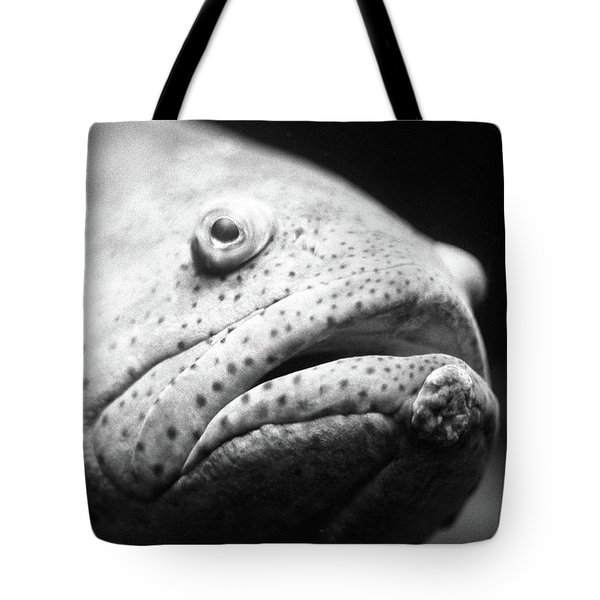 Fish Face Tote Bag
