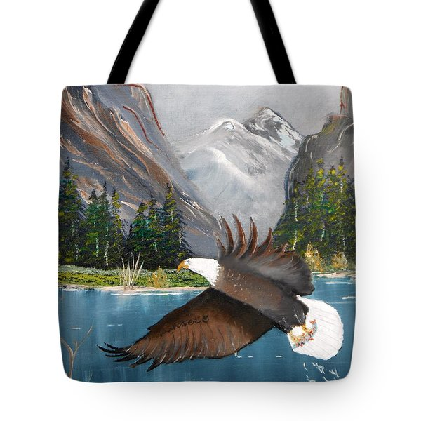 Fish For Dinner Tote Bag by Al  Johannessen