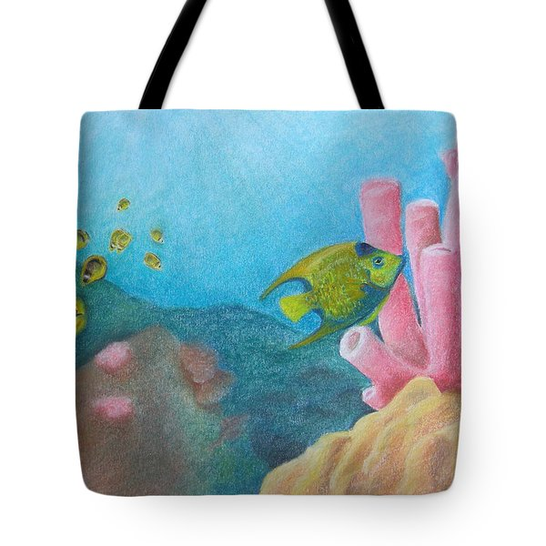 Fish Garden Tote Bag