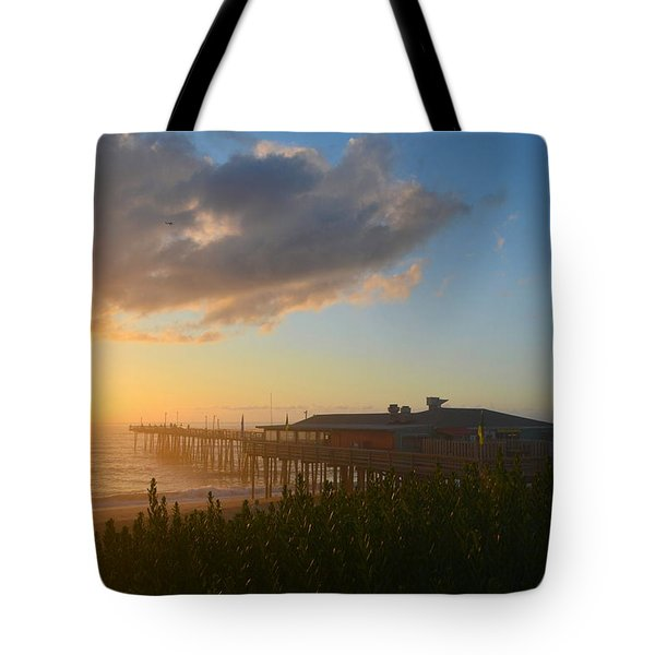 Tote Bag featuring the photograph Fish Heads 7/6/18 by Barbara Ann Bell