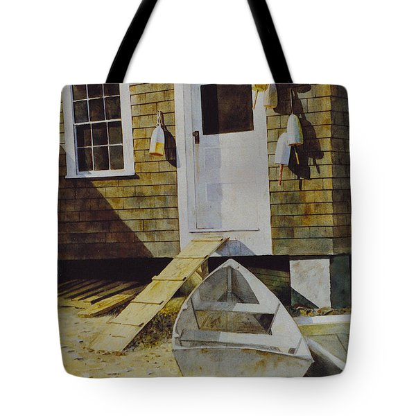 Fish House Monhegan Tote Bag