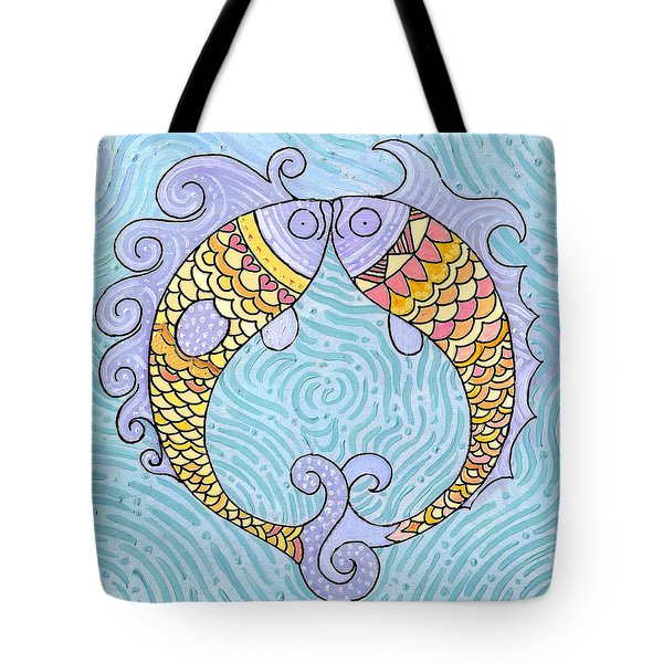 Fish Love Tote Bag