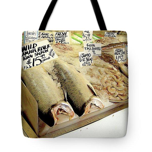 Fish Market Tote Bag