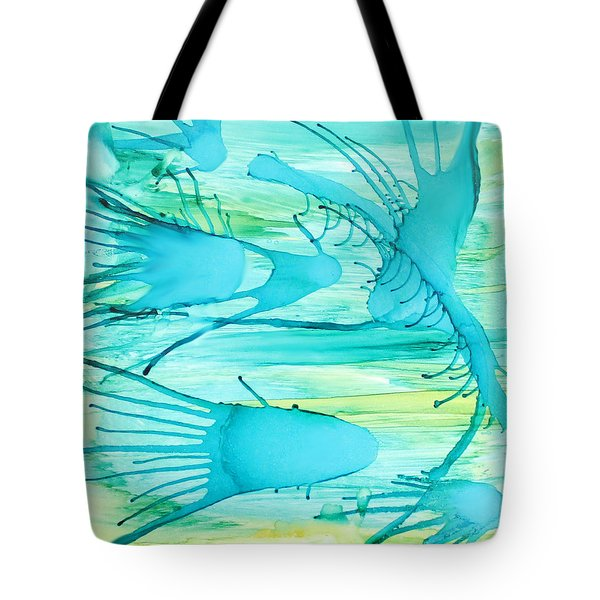 Fish N Shrimp Tote Bag