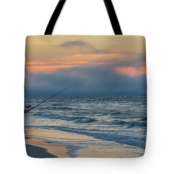Tote Bag featuring the photograph Fish On In Alabama  by John McGraw
