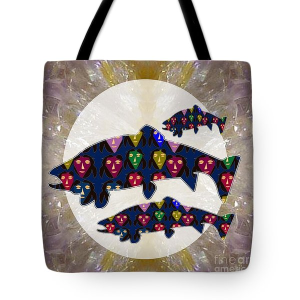 Fish Poisson Trout Water Living Animals Aquarium For Kids Room Personal Use Download Option   Tote Bag