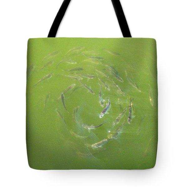 Fish Portal Tote Bag by Adam Long